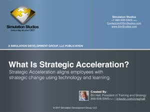 What is strategy acceleration?
