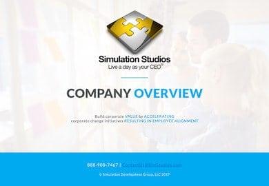 Simulation Studios Overview