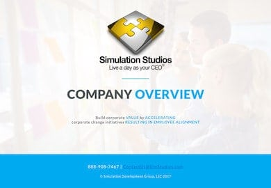 Simulation Studios Overview